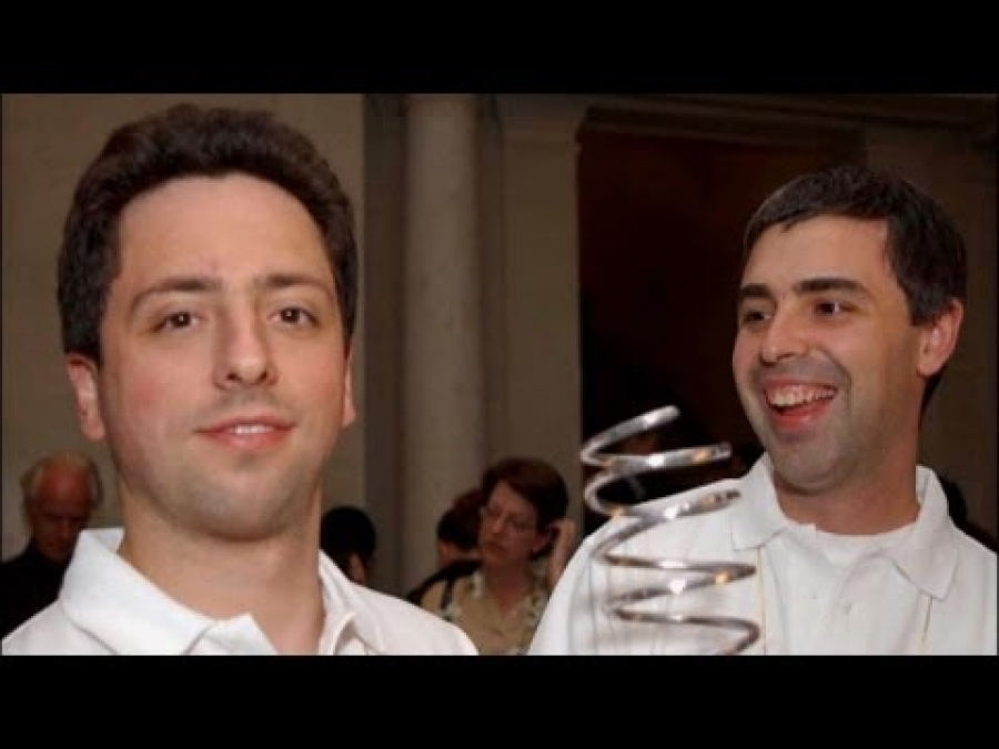 Sergey Brin & Larry Page: Inside the Google Brother's Master Mission