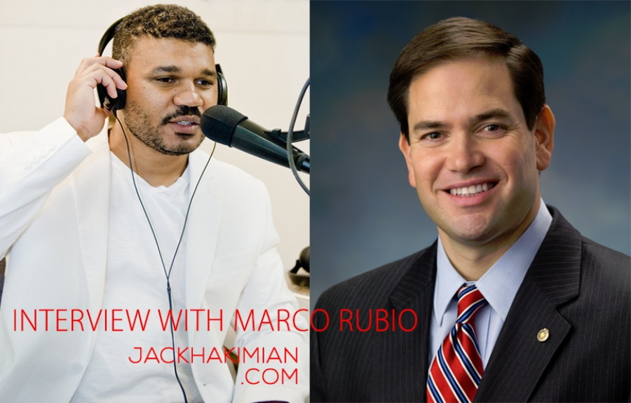 Senator Marco Rubio Discusses Why Blacks Don't Trust Republicans (4 of 9 ) | Jack Hakimian Show