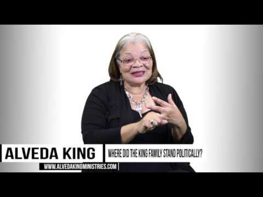 Alveda King Shares The Political Background Of King Family & MLK Jr. (3of5)