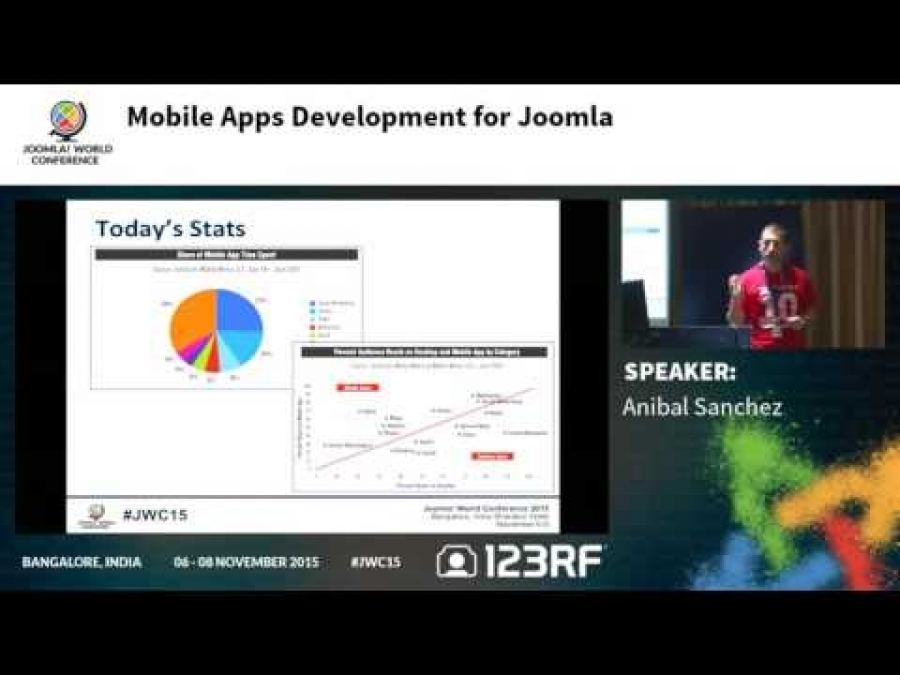 JWC15 - Mobile apps development for Joomla