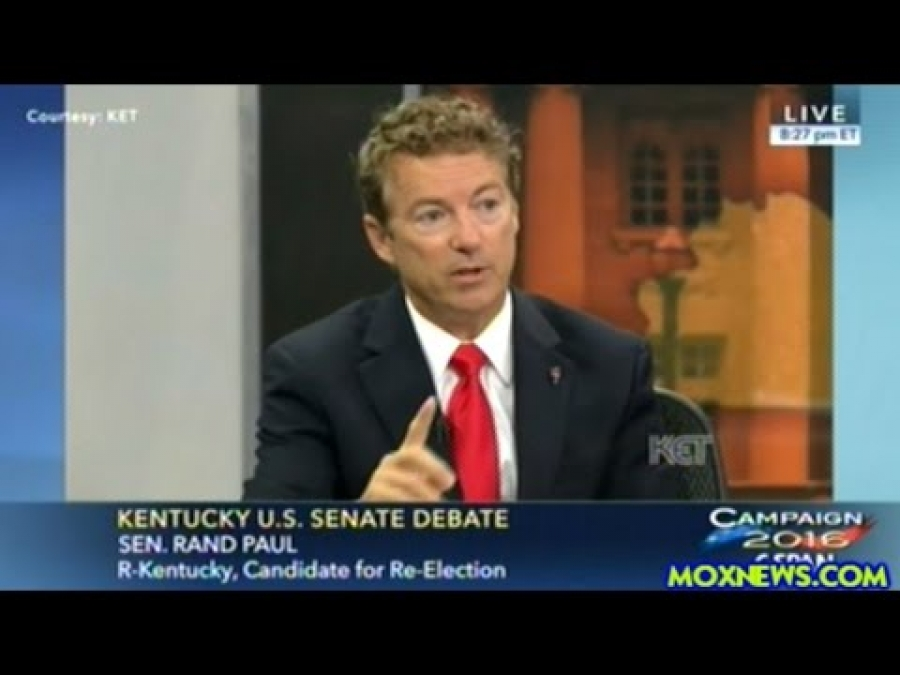 Rand Paul Says Hillary Clinton Knew Saudi Arabia Was Giving US Weapons To ISIS And Did Nothing!