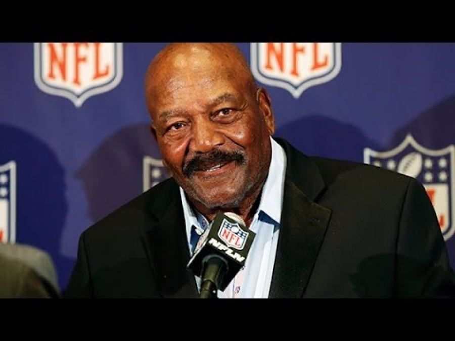 He got my admiration because no one gave him a chance - Jim Brown