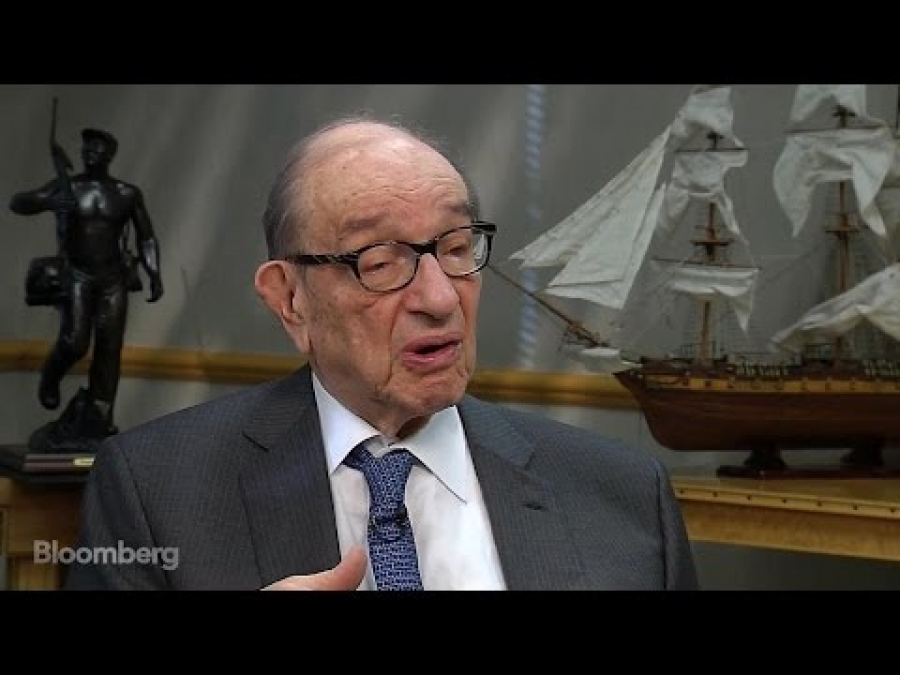 Greenspan: Last 5 Years U.S. Grew Scarcely at All