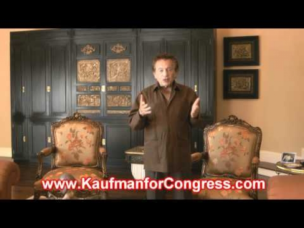 Jackie Mason endorses Joe Kaufman for U.S. Congress