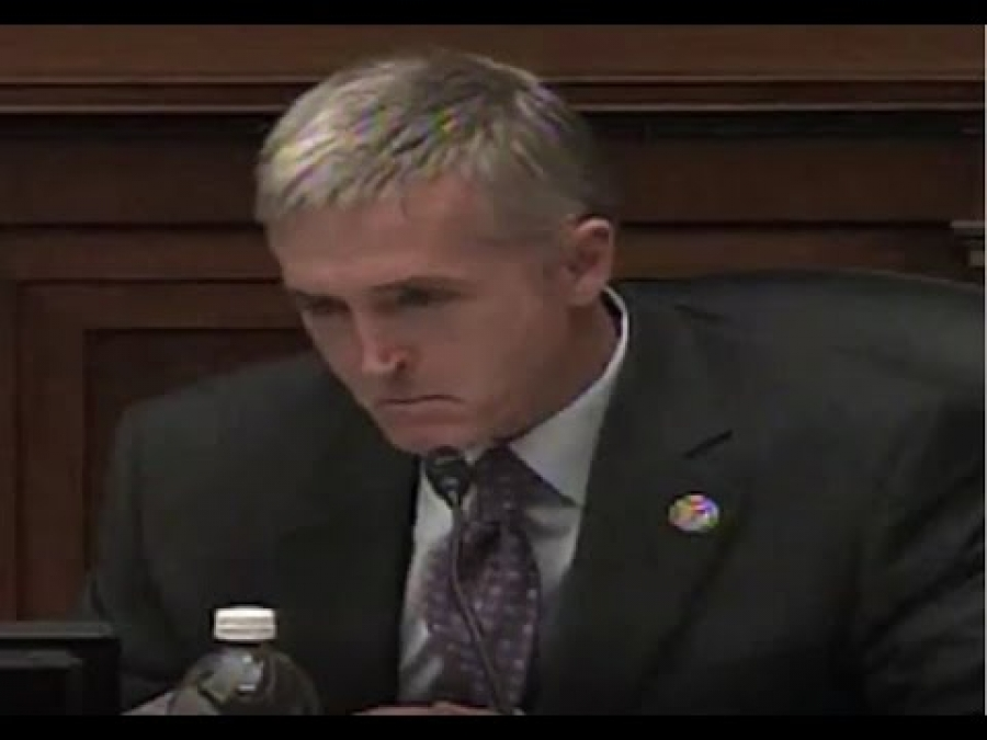 """Americans eat generic cereal while you eat a $44 breakfast that they paid for"" Trey Gowdy's Furious"