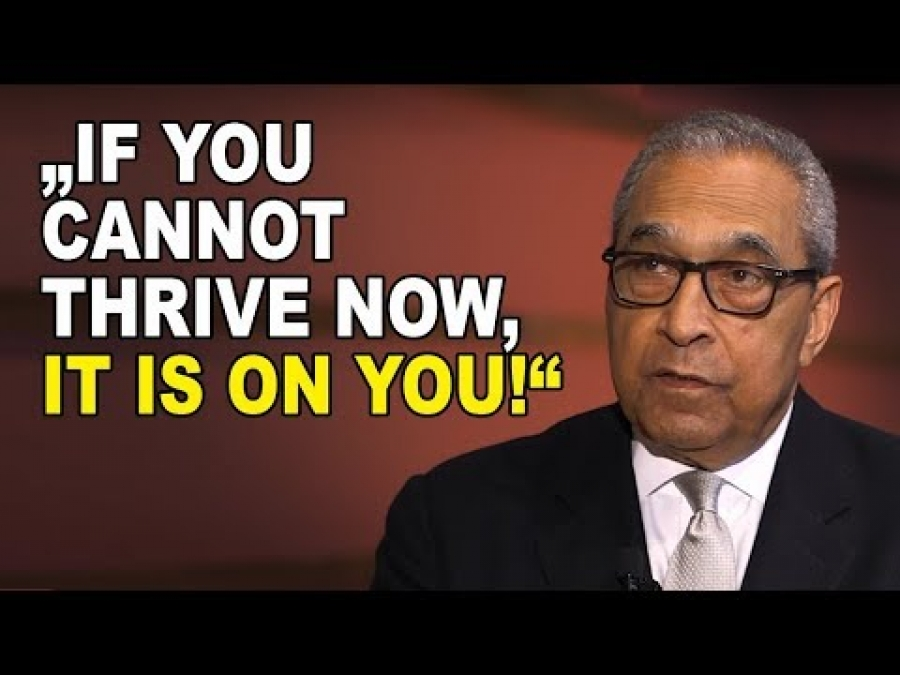 Shelby Steele on Blacks not Catching Up