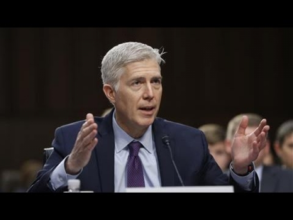Senators Question Gorsuch on Roe v. Wade