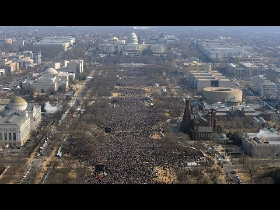 CNN Debunks It's Own Claim That Trump Inauguration Was Small