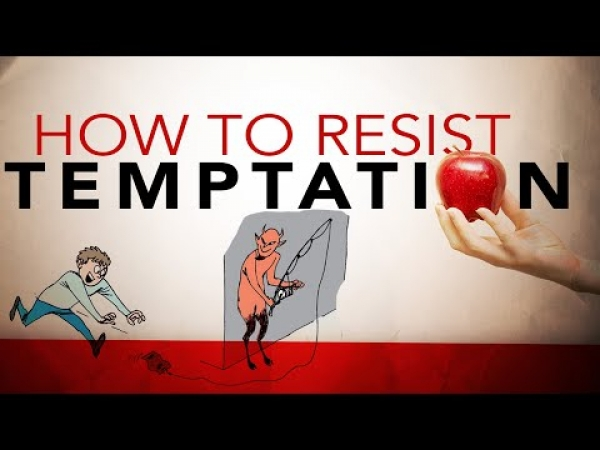 How to Resist Temptation from Satan - Francis Chan Illustration