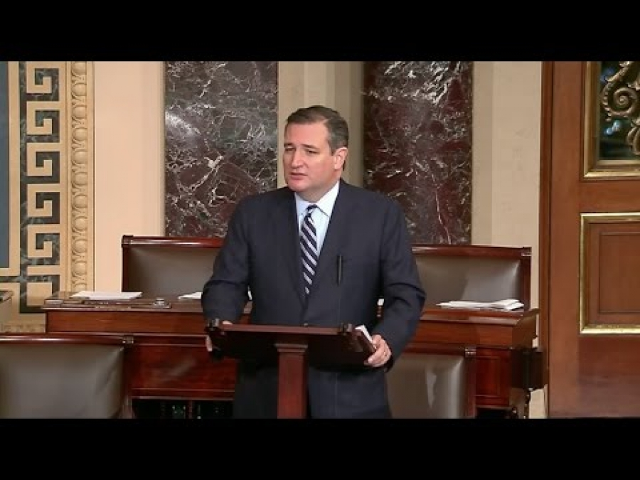 Sen. Cruz: Our Commitment to Israel Must Be Restored & Strengthened