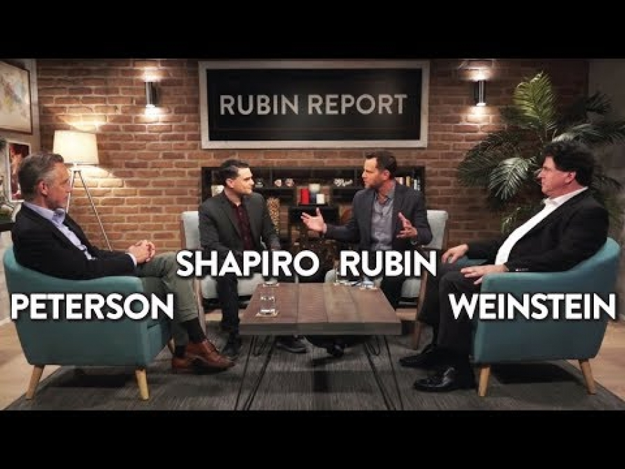 Jordan Peterson, Ben Shapiro, Eric Weinstein, and Dave Rubin