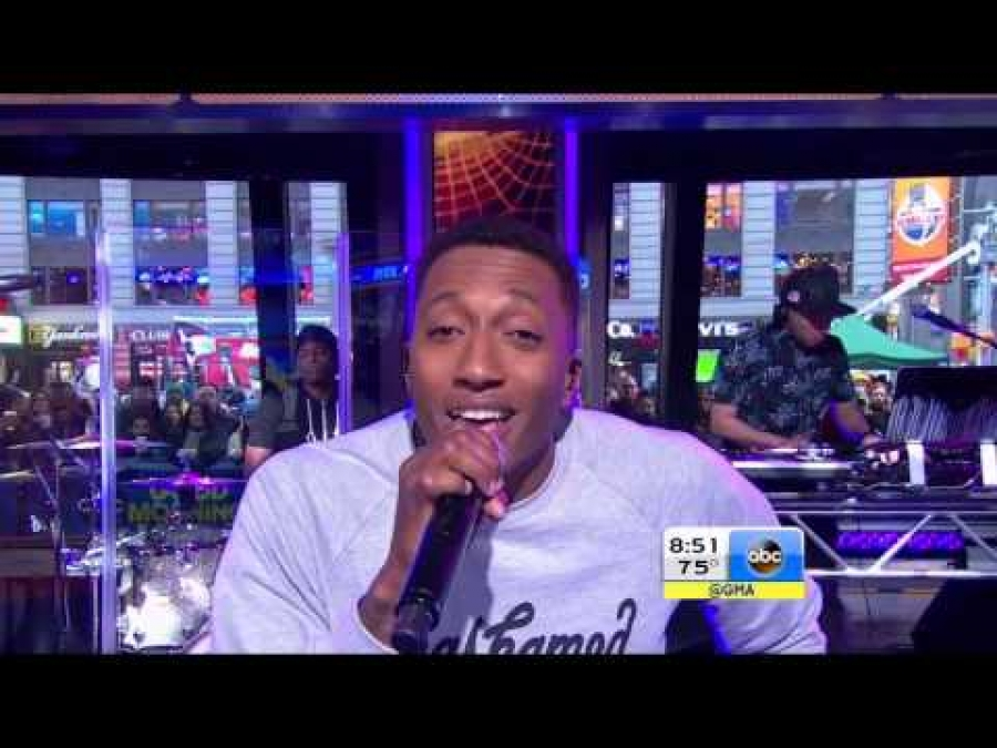 Lecrae on Good Morning America Performing All I Need Is You