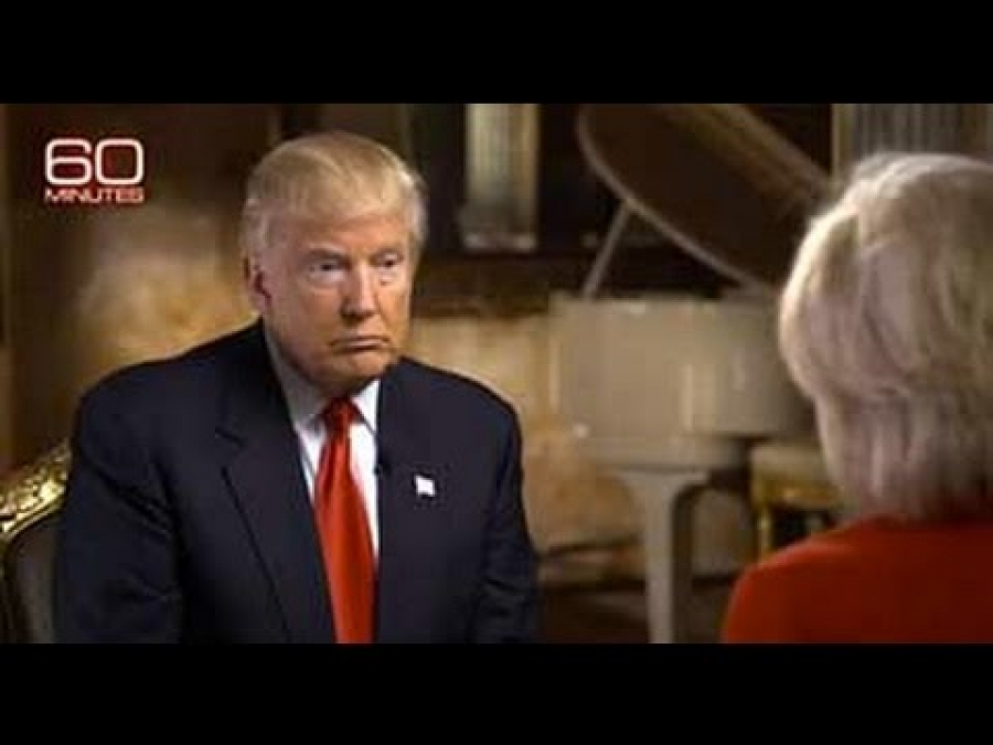 CBS 60 Minutes Interview Donald Trump - Question & Answers