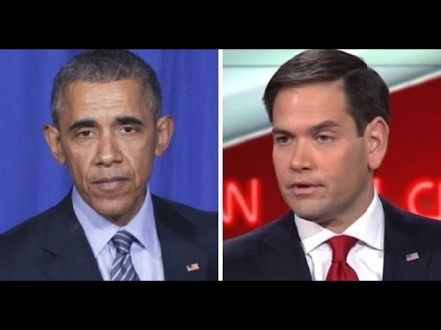Shots Fired! Rubio Just Went After Obama On Castro